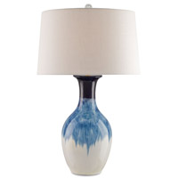 Fete 33 inch 150 watt Cobalt Table Lamp Portable Light