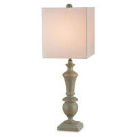 Currey & Company Stendhal 1 Light Table Lamp in Washed Flax 6321