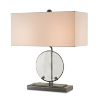 Currey & Company Kingsmill 2 Light Table Lamp in Old Iron 6418