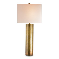Currey & Company 6504 Constable 34 inch 150 watt Vintage Brass Table Lamp Portable Light