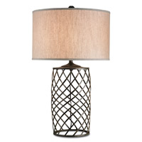 Currey & Company Dashiell 1 Light Table Lamp in Mayfair 6551