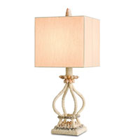 Currey & Company Savannah 1 Light Table Lamp in Natural 6581