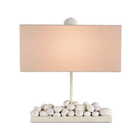 Currey & Company Anemone 1 Light Table Lamp in Natural 6584