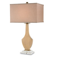 Summerville 31 inch 150 watt Antique Brass Table Lamp Portable Light
