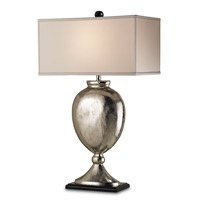 Marmont 37 inch 150 watt Nickel/Black Table Lamp Portable Light