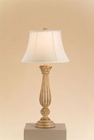 Currey & Company Plantation 1 Light Table Lamp in Aged Wood 6681 photo thumbnail