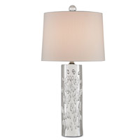 Currey & Company Hyaline 1 Light Table Lamp in Clear 6736