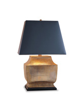 Currey & Company Helios 1 Light Table Lamp in Antique Brass 6768