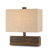 Currey & Company Structure 1 Light Table Lamp in Natural 6774