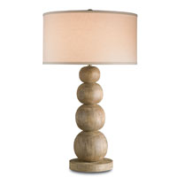 Currey & Company Calhoun 1 Light Table Lamp in Natural Antique 6916