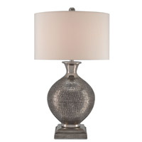 Evolution 31 inch 150 watt Antique Nickel Table Lamp Portable Light