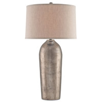 Reliance 36 inch 150 watt Antique Nickel Table Lamp Portable Light