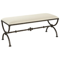 Agora Rustic Bronze Bench, Large