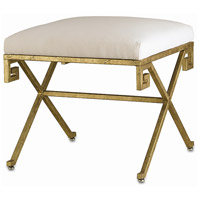 Circe Red Gold Leaf Bench