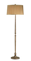 Currey & Company Magnitude 1 Light Floor Lamp in Cupertino 8013