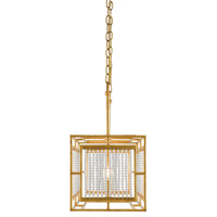Adelle 5 Light 49 inch Chinois Gold Leaf Chandelier Ceiling Light
