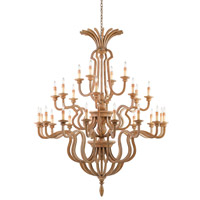 Impressario 28 Light 61 inch Chestnut Chandelier Ceiling Light