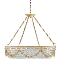 Aubade 12 Light 42 inch Gold Leaf Chandelier Ceiling Light