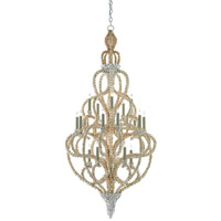 Corniche 20 Light 28 inch Natural Chandelier Ceiling Light