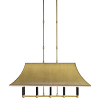 Glasgow 10 Light 39 inch Brass Chandelier Ceiling Light