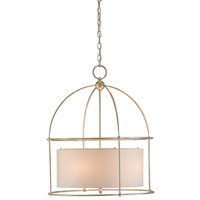 Benson 4 Light 24 inch Silver Granello Lantern Ceiling Light