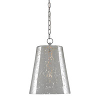 Foxtrot 1 Light 12 inch Antique Silver/Silver Pendant Ceiling Light