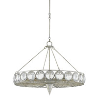 Celestia 24 Light 38 inch Majestic Silver Leaf Chandelier Ceiling Light