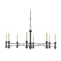 Arley 8 Light 61 inch French Black Chandelier Ceiling Light