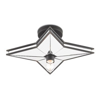 Cassiopeia 1 Light 19 inch Blacksmith Semi Flush Mount Ceiling Light