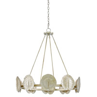 Call Me Lilly 10 Light 34 inch Dark Silver Leaf Chandelier Ceiling Light