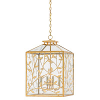 Frogmore 4 Light 18 inch Gilt Bronze/Dutch Gold Leaf Lantern Ceiling Light