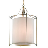 Miller 3 Light 22 inch Antique Bronze Lantern Ceiling Light