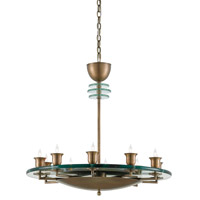 Bainbridge 10 Light 30 inch Antique Brass Chandelier Ceiling Light
