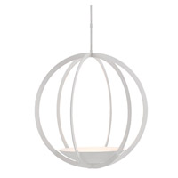 Moondance 3 Light 32 inch Matte White Chandelier Ceiling Light