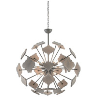 Ogee 10 Light 36 inch Hiroshi Gray and Driftwood Gray Chandelier Ceiling Light, Orb