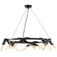 Luciole 12 Light 34 inch Oil Rubbed Bronze Chandelier Ceiling Light