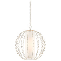 Langston 1 Light 25 inch Silver Granello Chandelier Ceiling Light, Orb