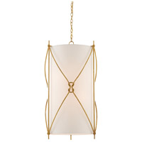Ariadne 6 Light 20 inch Contemporary Gold Leaf Pendant Ceiling Light, Large
