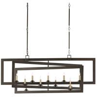 Currey & Company 9000-0525 Middleton 11 Light 54 inch Bronze Gold Chandelier Ceiling Light