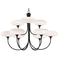 Currey & Company 9000-0588 Solfeggio 9 Light 48 inch Oil Rubbed Bronze Chandelier Ceiling Light Large
