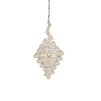 Wanderlust 4 Light 23 inch Contemporary Silver Leaf Chandelier Ceiling Light