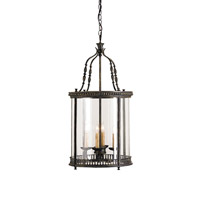 Currey & Company 9046 Grayson 4 Light 16 inch French Black Lantern Ceiling Light