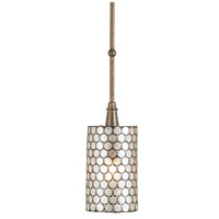 Currey & Company 9055 Regatta 1 Light 6 inch Cupertino Pendant Ceiling Light