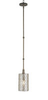Currey & Company Regatta 1 Light Pendant in Cupertino 9055