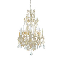 Currey & Company Buttermere 6 Light Chandelier in Natural 9162
