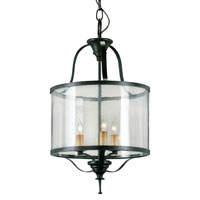Currey & Company Ardmore 3 Light Lantern in Old Iron 9183