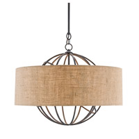 Millcroft 4 Light 29 inch French Black and Natural Chandelier Ceiling Light