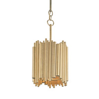 Currey & Company Imogen 1 Light Pendant in Contemporary Gold Leaf 9369