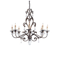 Currey & Company Pompeii 8 Light Chandelier in Cupertino 9380