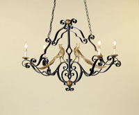 Currey & Company Pheasant  Chandeliers 9397
